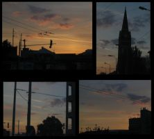Dawn in the city by Amanodel