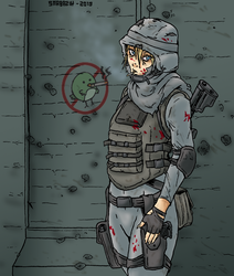 Smokybird Soldier by Shabazik