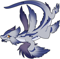 [CUSTOM] Starry glaucus dragon by Ayinai