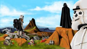 Star Wars Damned and forgotten by FoxbatMit