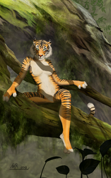 Junglequeen by AnKer-Illustration
