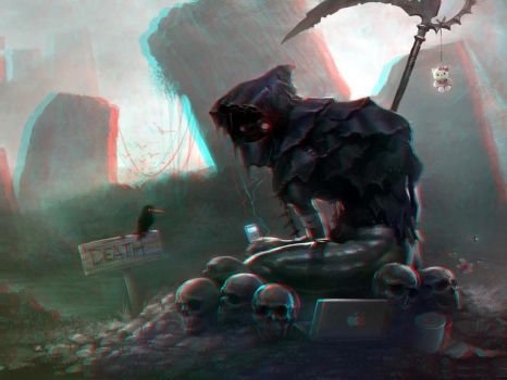 Death, 2012 3-D conversion by MVRamsey