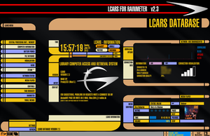 LCARS for Rainmeter VERSION 2.3 (June 23 2013) by Jefson