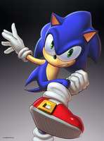 Sonic (Ultimate) by hybridmink