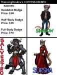 Badge Commissions by TheLivingShadow