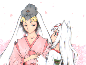 Okami: May I Have This Dance? by iyua