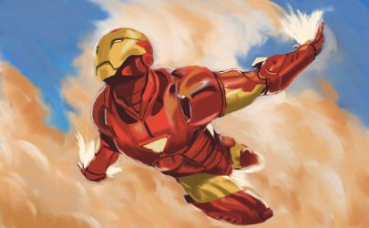 Iron Man Painting by EdSquared