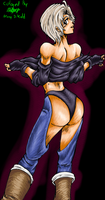 Angel From King Of Fighters Collab Test by MaryDKidd