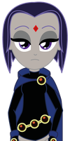 Equestria Girls x Teen Titans Raven by Lhenao