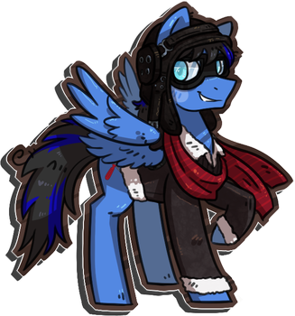Commission - Swanky! by KYAokay