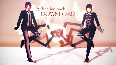 [ MMD ] Sebastian Michaelis pack DOWNLOAD by Cieeel