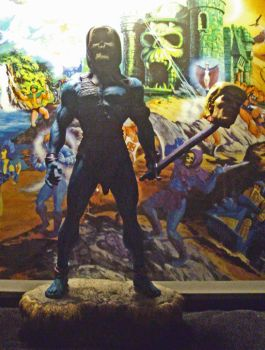 Savage Skeletor statue yourkillercustoms 0 by YOURKILLERCUSTOMS