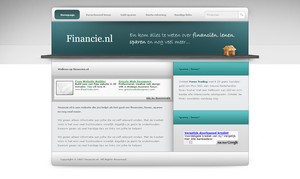 Financial webdesign by PaulNLD