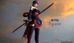 Ayane Render by bstylez