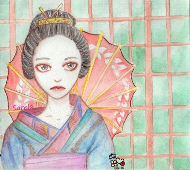 -Geisha- by Sarel