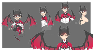 Adopt Auction: Blinded Devil (CLOSED) by yhviia-adopts