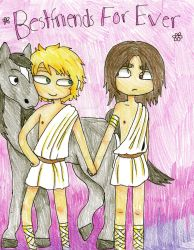 Alexander the Great and Hephaestion BFFs by AlexanderAeternus