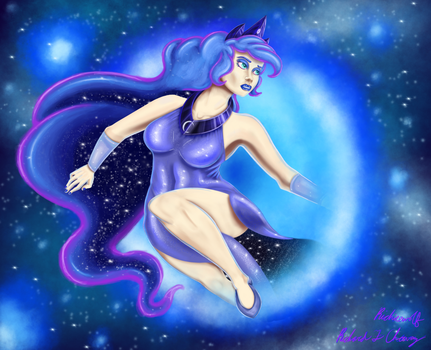 The  Princess of nights and Dreams by Richiewolf