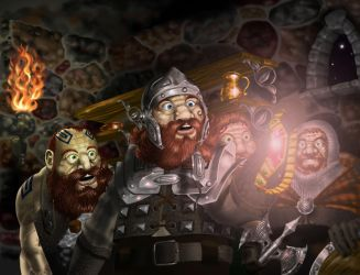 The Dwarves steal the Silmaril by sboterod