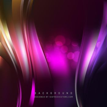 Colorful Wave Background Free Vector by 123freevectors