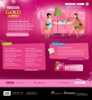 Nescafe Gold Mild by indestudio