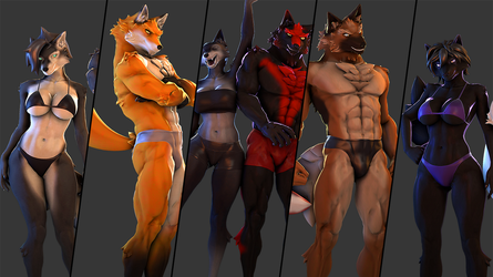 Wolves Models Release (SFM) by petruz3D