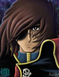 Captain Harlock by ninjatron
