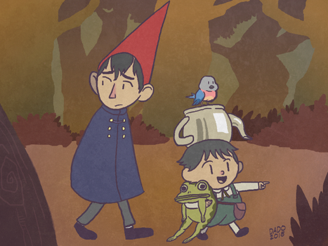 Over The Garden Wall by dadothegreat