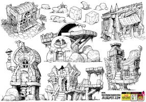 6 BUILDING Concepts! by STUDIOBLINKTWICE