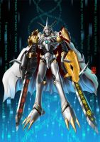 Courage and Truth Omegamon Delta by AoronQinG