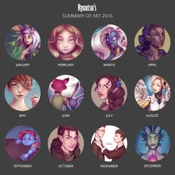 Art Summary 2016 by Ryuutsu