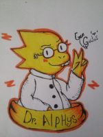 Dr. alphys :3 by GeMGuidos