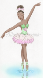 Waterlily ballet dancer by SilveryLugia