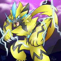 Zeraora by Aquazeem