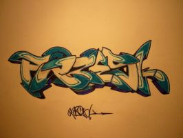 FAZESK seadreamin' by Graffitiminded