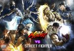 Street Fighter VS Mortal Kombat by flavioluccisano
