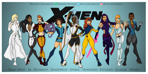 X-Women Redesigns by Femmes-Fatales