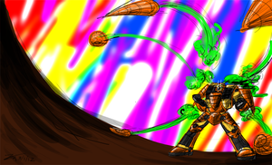 Carrot Toppa Missile Barrage by Zicygomar