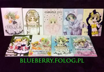 Di Gi Charat Chocola Artbooks Collection by nover