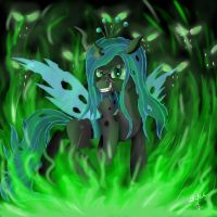 Queen Chrysalis by VittorioNobile