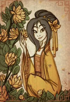 AC Day 10 - Princess Yin by roseandthorn