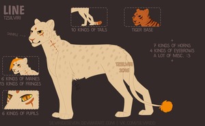 P2U LINE Big Cats by TzSilviri