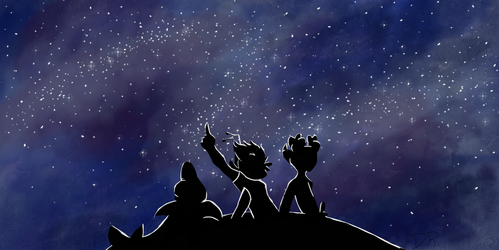 Lots of Stars Out Tonight (READ DESCRIPTION) by dragonrider71103