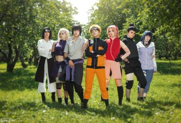 Naruto Shippuuden by Seliverstova