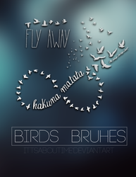 Birds Brushes. by ittsaboutime