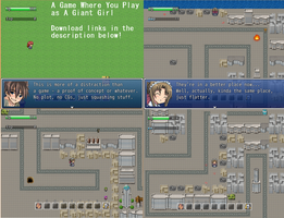 A Game Where You Play As A Giant Girl by TFWNoGiantGF