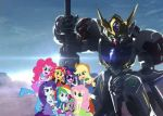 The Rainbooms and the 8th Duke of Hell by XrosBrony