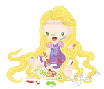Baby Rapunzel by macurris