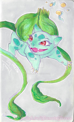Bulbasaur by tiamat