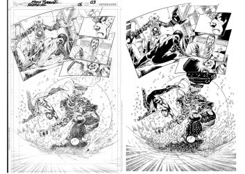 NW06PAGE03 penciller EddyBarrows Inker SandroRibei by Sandrotrs